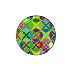 Abstract Pattern Background Design Hat Clip Ball Marker