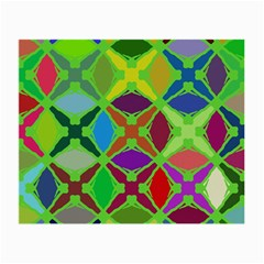 Abstract Pattern Background Design Small Glasses Cloth