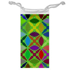 Abstract Pattern Background Design Jewelry Bag