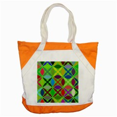 Abstract Pattern Background Design Accent Tote Bag