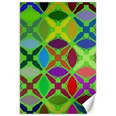 Abstract Pattern Background Design Canvas 12  X 18