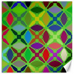 Abstract Pattern Background Design Canvas 20  X 20