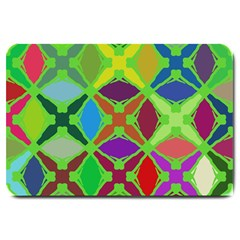 Abstract Pattern Background Design Large Doormat