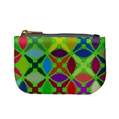 Abstract Pattern Background Design Mini Coin Purses