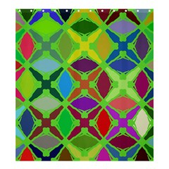 Abstract Pattern Background Design Shower Curtain 66  x 72  (Large)