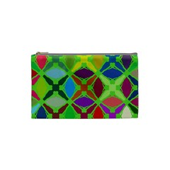 Abstract Pattern Background Design Cosmetic Bag (Small)