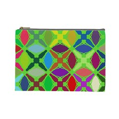Abstract Pattern Background Design Cosmetic Bag (large)