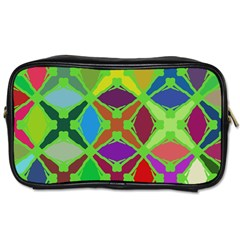 Abstract Pattern Background Design Toiletries Bags