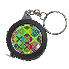 Abstract Pattern Background Design Measuring Tapes