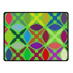 Abstract Pattern Background Design Fleece Blanket (Small)