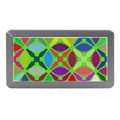Abstract Pattern Background Design Memory Card Reader (mini)