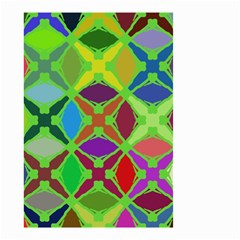 Abstract Pattern Background Design Small Garden Flag (Two Sides)