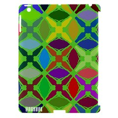 Abstract Pattern Background Design Apple iPad 3/4 Hardshell Case (Compatible with Smart Cover)