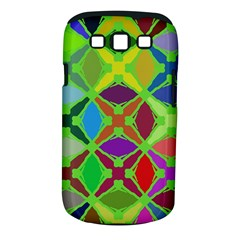 Abstract Pattern Background Design Samsung Galaxy S III Classic Hardshell Case (PC+Silicone)