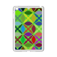 Abstract Pattern Background Design Ipad Mini 2 Enamel Coated Cases