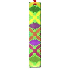 Abstract Pattern Background Design Large Book Marks
