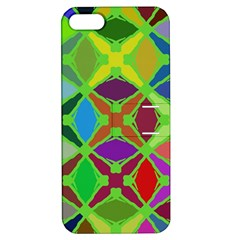 Abstract Pattern Background Design Apple Iphone 5 Hardshell Case With Stand
