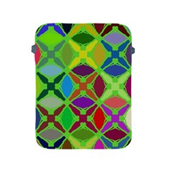 Abstract Pattern Background Design Apple Ipad 2/3/4 Protective Soft Cases