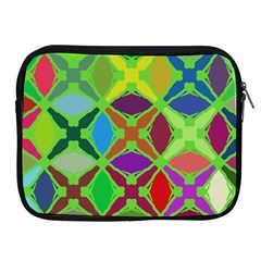 Abstract Pattern Background Design Apple Ipad 2/3/4 Zipper Cases