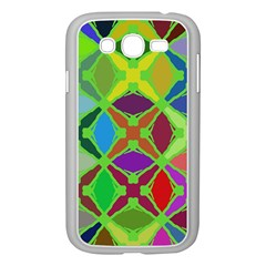 Abstract Pattern Background Design Samsung Galaxy Grand Duos I9082 Case (white)