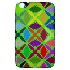 Abstract Pattern Background Design Samsung Galaxy Tab 3 (8 ) T3100 Hardshell Case