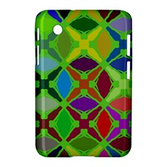 Abstract Pattern Background Design Samsung Galaxy Tab 2 (7 ) P3100 Hardshell Case