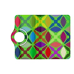 Abstract Pattern Background Design Kindle Fire Hd (2013) Flip 360 Case