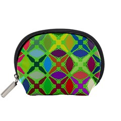 Abstract Pattern Background Design Accessory Pouches (small)