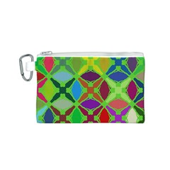 Abstract Pattern Background Design Canvas Cosmetic Bag (s)
