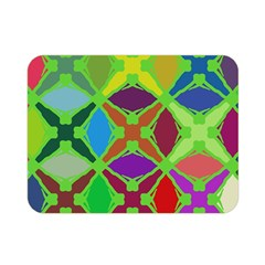 Abstract Pattern Background Design Double Sided Flano Blanket (mini)