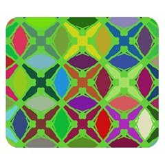Abstract Pattern Background Design Double Sided Flano Blanket (Small)