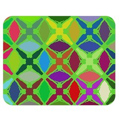Abstract Pattern Background Design Double Sided Flano Blanket (medium)