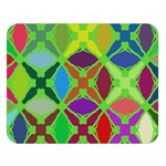 Abstract Pattern Background Design Double Sided Flano Blanket (Large)   Blanket Back