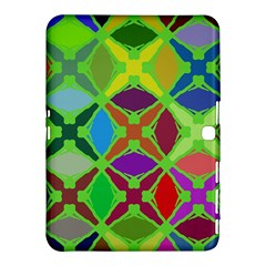 Abstract Pattern Background Design Samsung Galaxy Tab 4 (10 1 ) Hardshell Case