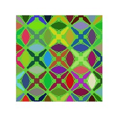 Abstract Pattern Background Design Small Satin Scarf (square)