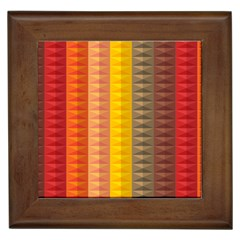 Abstract Pattern Background Framed Tiles