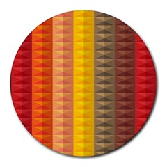 Abstract Pattern Background Round Mousepads