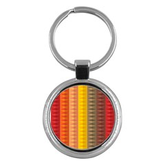Abstract Pattern Background Key Chains (Round)
