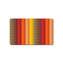 Abstract Pattern Background Magnet (name Card)