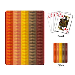 Abstract Pattern Background Playing Card