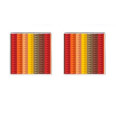 Abstract Pattern Background Cufflinks (square)