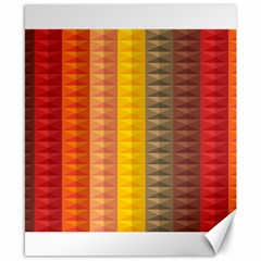 Abstract Pattern Background Canvas 8  x 10