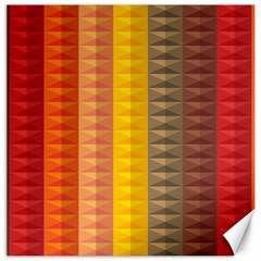 Abstract Pattern Background Canvas 16  X 16