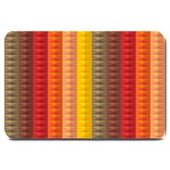 Abstract Pattern Background Large Doormat