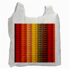 Abstract Pattern Background Recycle Bag (one Side)