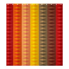 Abstract Pattern Background Shower Curtain 66  X 72  (large)