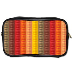 Abstract Pattern Background Toiletries Bags