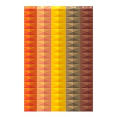 Abstract Pattern Background Shower Curtain 48  x 72  (Small)