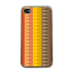 Abstract Pattern Background Apple Iphone 4 Case (clear)