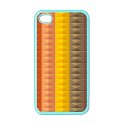 Abstract Pattern Background Apple Iphone 4 Case (color)